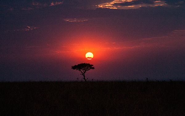 african-sunset